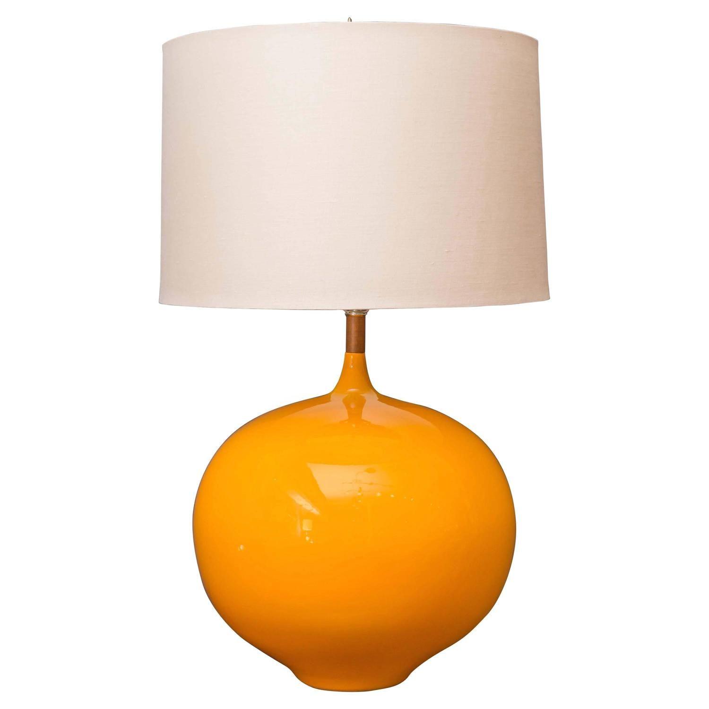 Mid Century Modern Yellow Lamp LampsModern Table