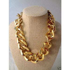 I love the huge gold chains Jewelry Pinterest Chains Naked