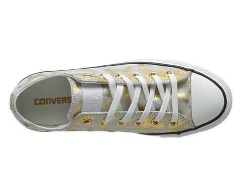 Converse Chuck Taylor® All Star® Metallic Ox Rich GoldWhite