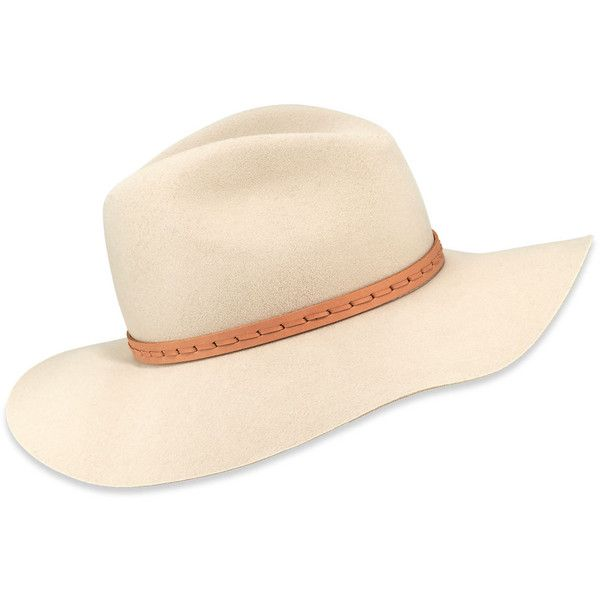 Rag Bone Wool Felt Wide Brim Fedora Hat 760 Pln Liked On Polyvore Featuring Accessories Hats Accessori Felt Floppy Hat Wool Fedora Hat Wide Brim Fedora