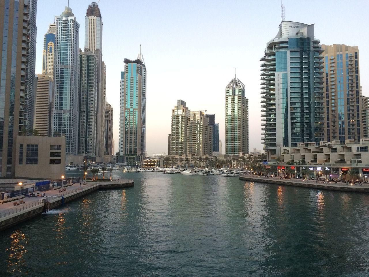 Smart Dubai Kicks Off First Ever City Wide Implementation Of Blockchain Dubai Skyscraper Dubai Vintage Travel