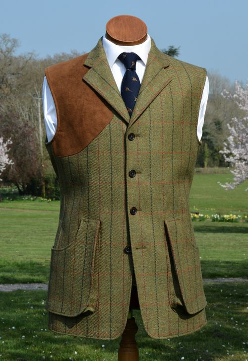 05a6bf3fd4a4e Duneagle Tweed Shooting Vest | Bookster in 2019 | Mens tweed suit ...