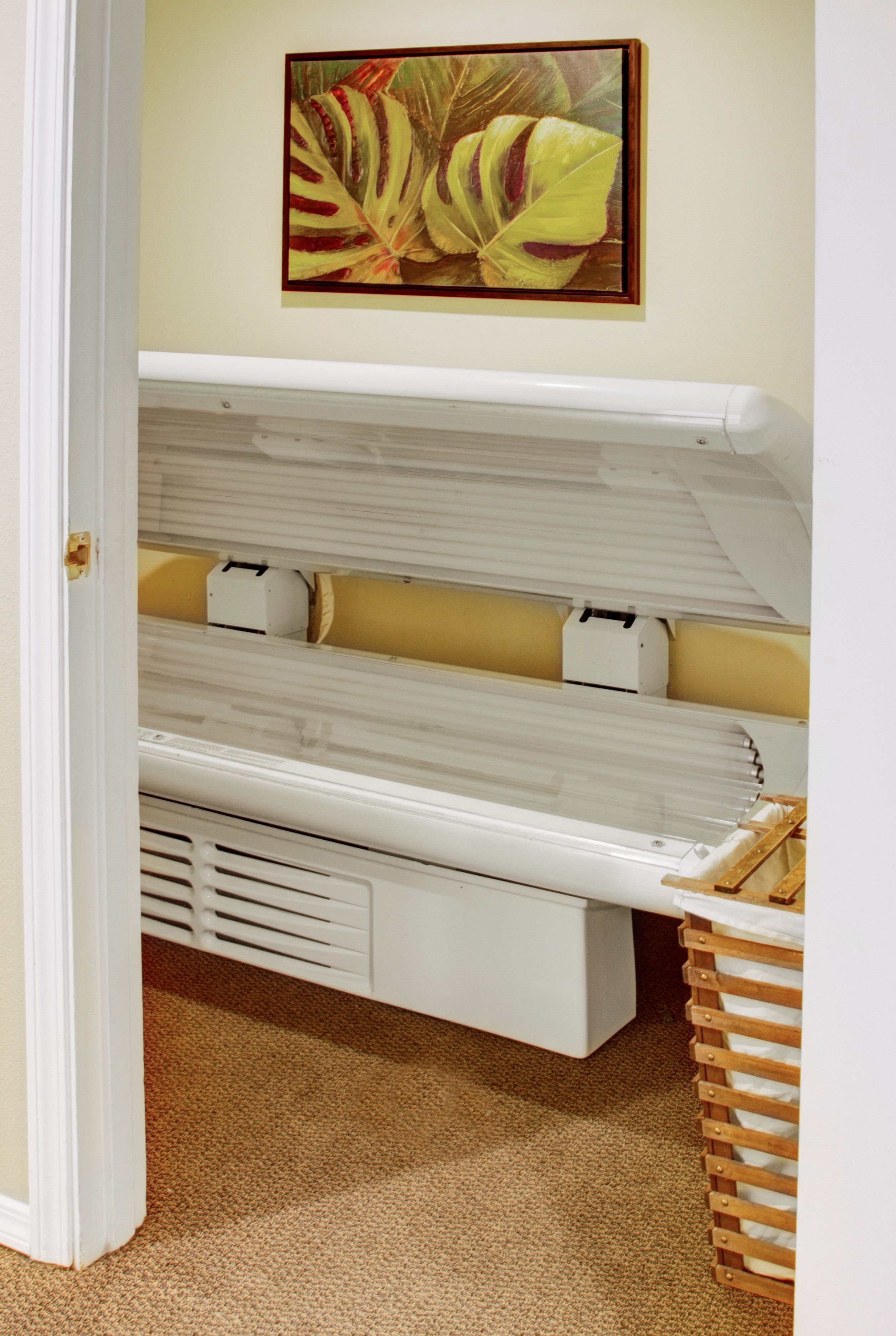 Get bronzed in our tanning bed tanning bed bed tanning