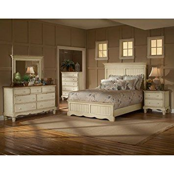 Hillsdale Wilshire Panel Bed in Antique White \u2013 Queen Review