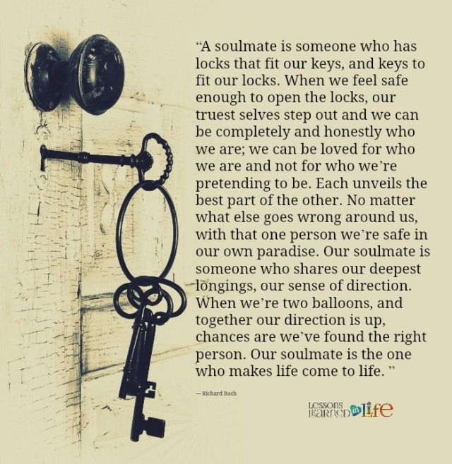 Love Each Other When Two Souls: Lessons Learned In LifeOur Soul Mate.