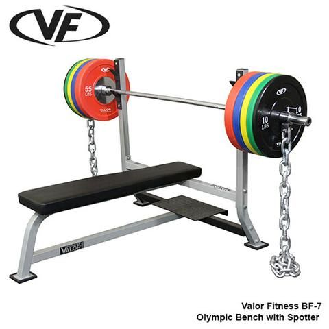 Buy Valor Fitness Olympic Bench W Spotter At Fitnessgearusa Com For