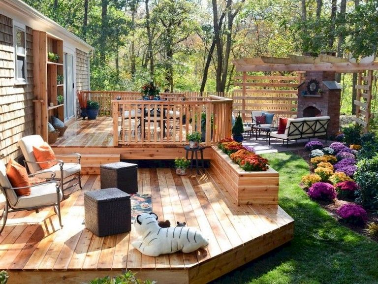 40 Rural Backyard Design Ideas And Remodel Deck Designs