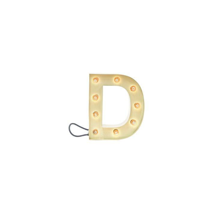 D Small Light Yellow