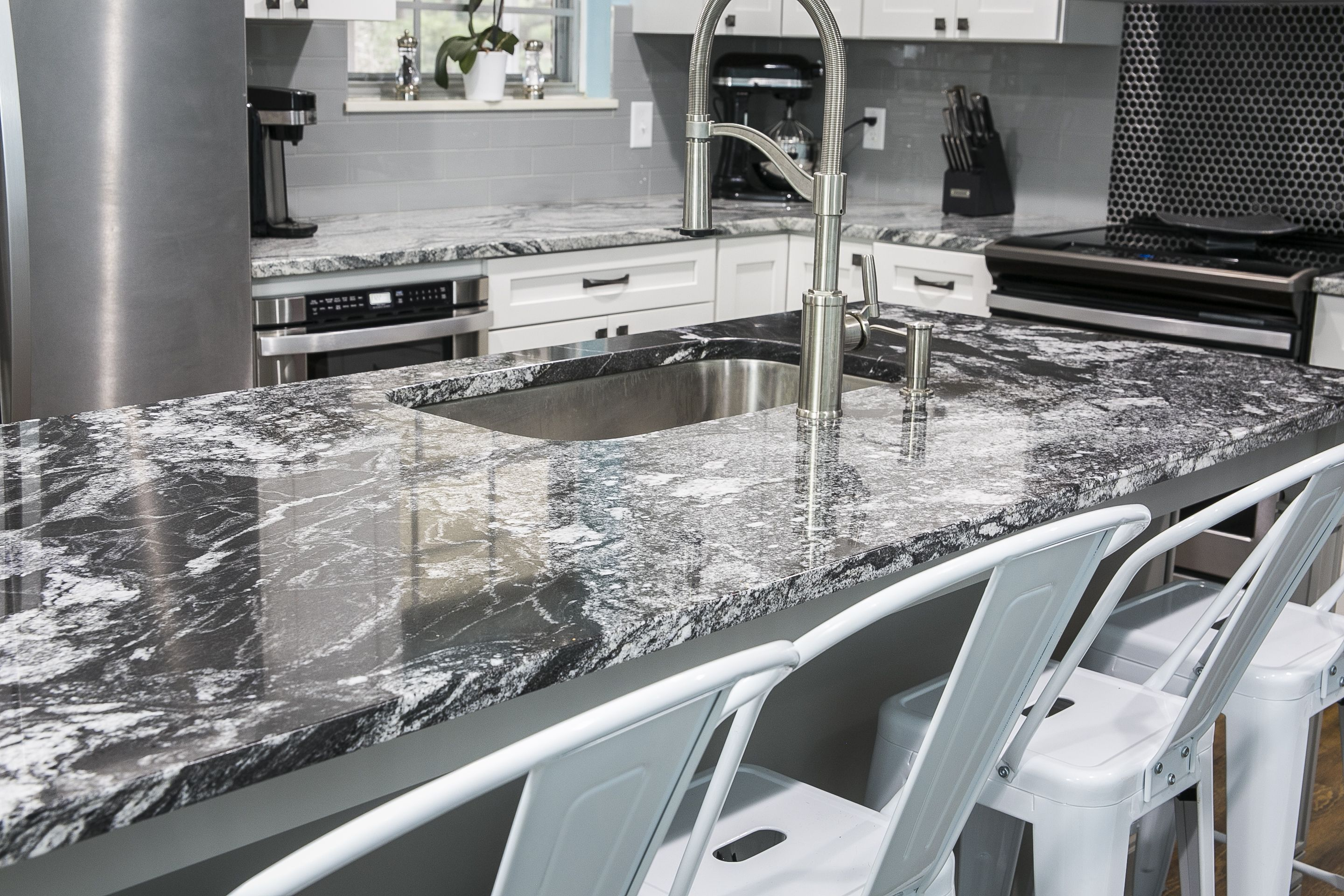 This Knoxville Tn Home Was Updated With Beautiful Black Forest Granite Countertops On Their Island By Knoxvill