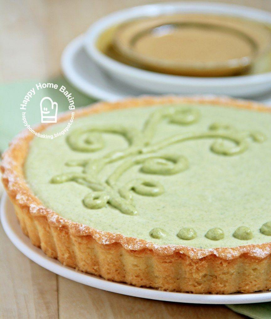 Happy Home Baking: Matcha Cheesecake Tart | Matcha Green ...