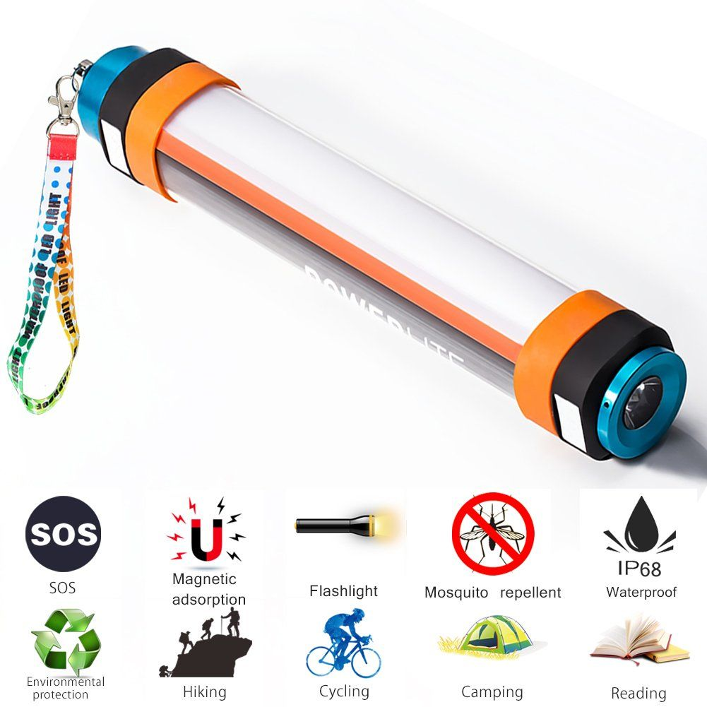 LED Flashlight Torch Rechargeable Multi Use Safety Security Waterproof SOS Light