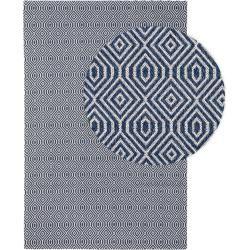 Photo of benuta Naturals Washable Cotton Rug Cooper Blue 230×320 cm – Modern rug for living room