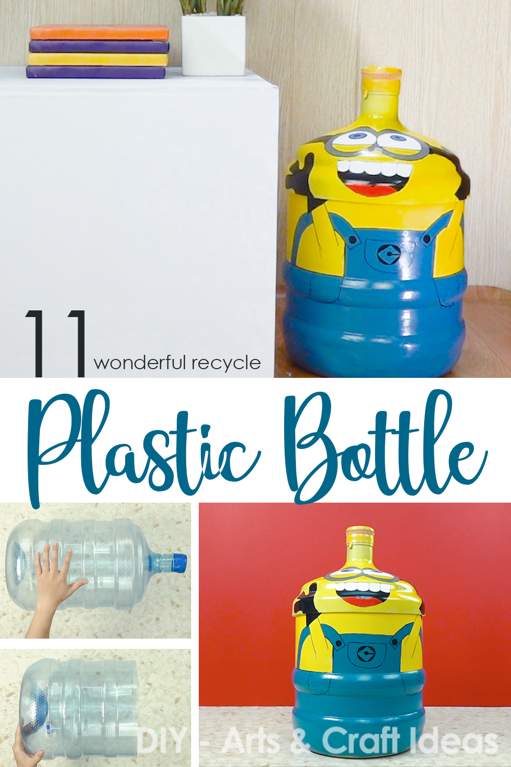 11 Wonderful Recycle Diy Crafts With Plastic Bottle Recycle Crafts Diy Diy Recycle Recycling