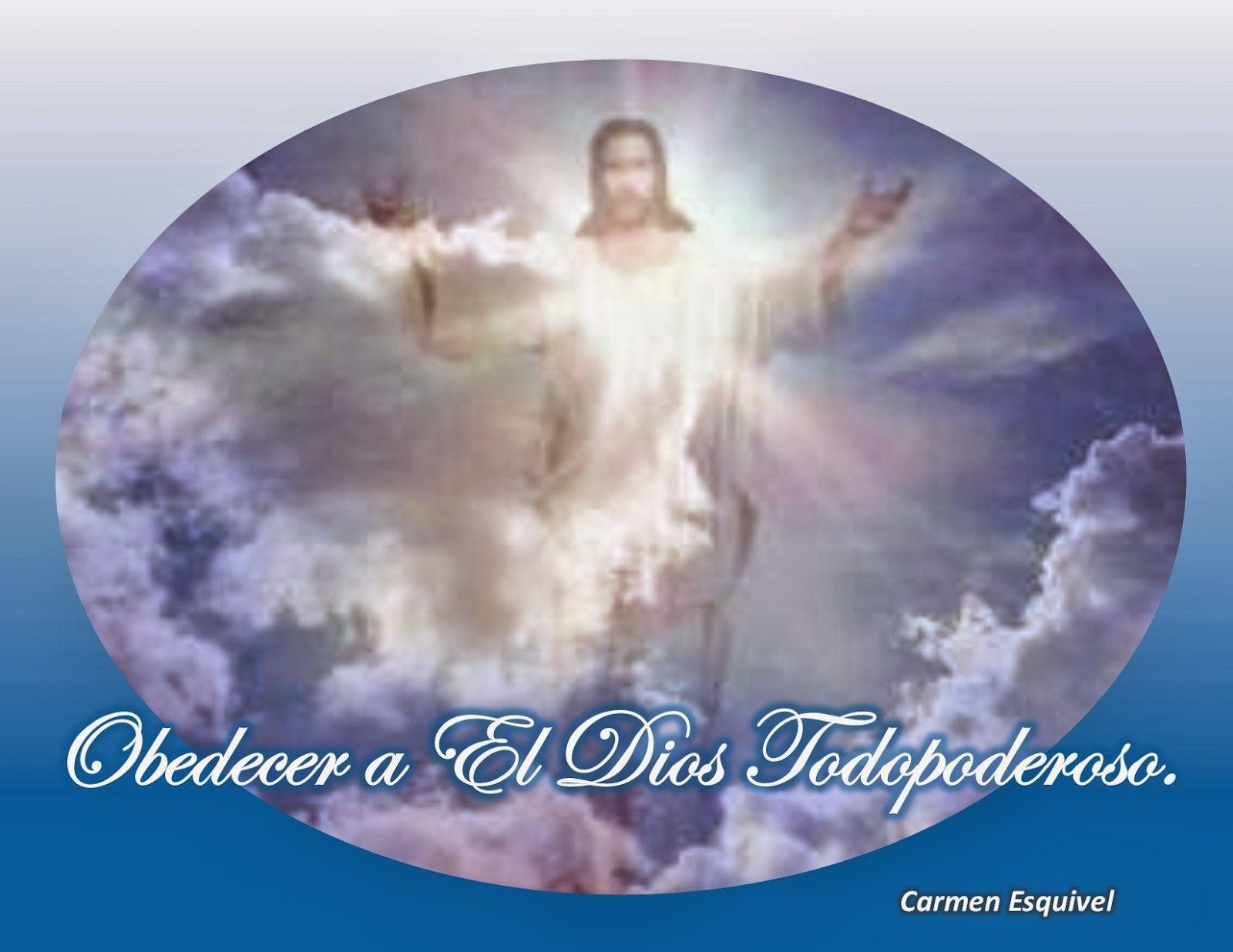 Voluntarios Reiki por Amor (Modelando la Vida con la Abuela Uba).: Obedecer a El Dios Todopoderoso.