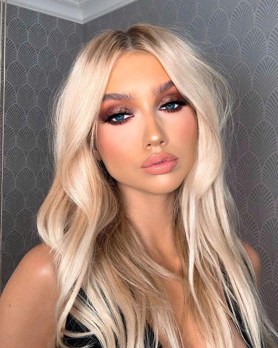 Pin By Marina On Vyeaytifyℓ ɛყɛʂ ꭰyeѕiyaye E Y E S Hair Makeup Barbie Hair Hair Styles