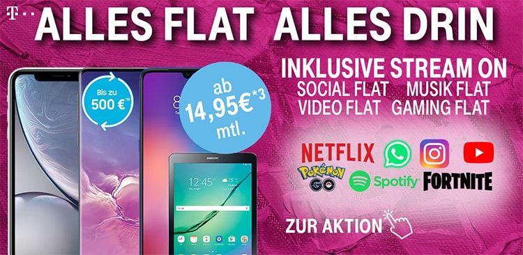 Telekom Magenta Mobil S Ab 39 95 Mit Top Smartphone Fur 1 Smartphone Telekom Handyvertrag
