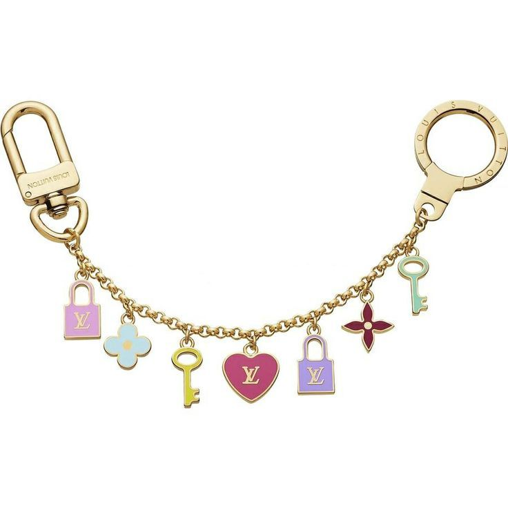 Louis Vuitton Pretty Charms Chain Key Holder ,Only For $108.99,Plz Repin ,Thanks.