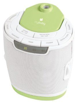 Homedics My Baby Sound Spa Lullaby Sound Machine and