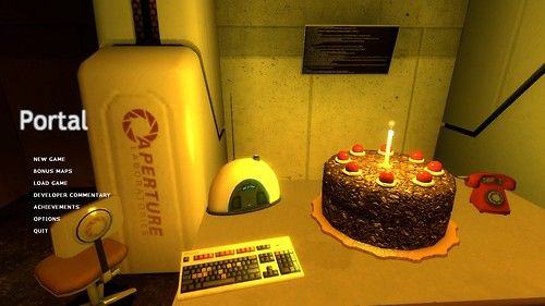 portal Tumblr Cake song, Portal, Cake