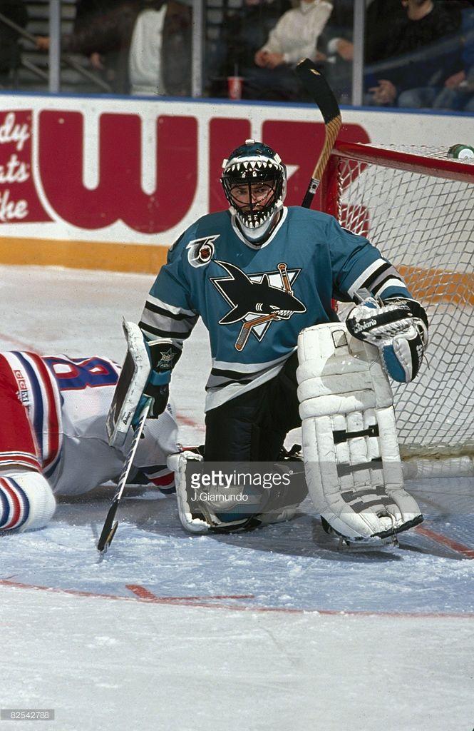 Canadian Ice Hockey Player Brian Hayward Goalkeeper For The San Jose Picture Id82542788 665 1024 Hockey Fans Hockey Players Hockey