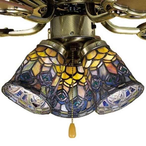 Tiffany light for ceiling fan tiffany pinterest ceiling fans tiffany light for ceiling fan aloadofball Gallery