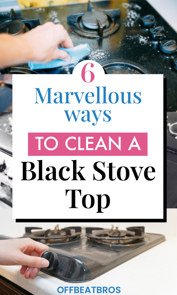 How To Clean A Black Stovetop Clean Stove Top Stove Top Cleaner Cleaning Grease