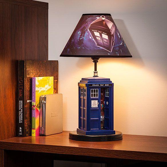 Dr Who TARDIS Table Lamp $49.99