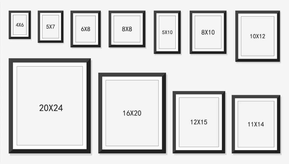Standard Picture Frame Sizes Google Search In 2020 Picture Frame Sizes Standard Picture Frame Sizes Picture Frame Gallery