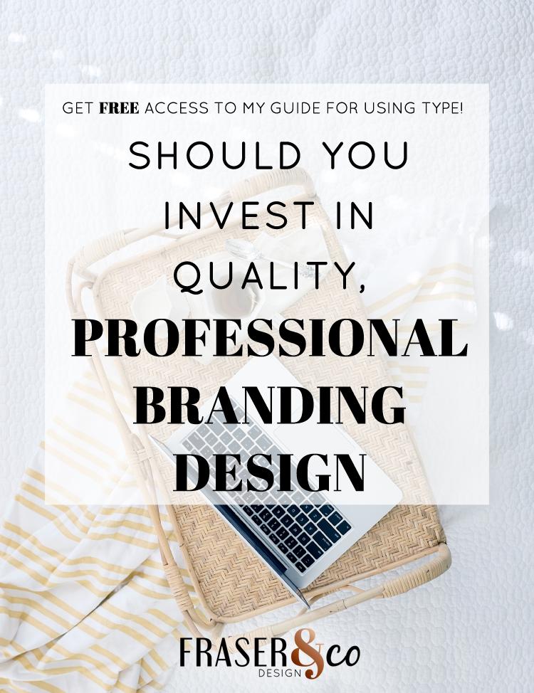 Fraser & Co Design Logo, brand & website design for