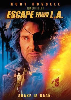 Escape From La Movie Poster Standup 4inx6in