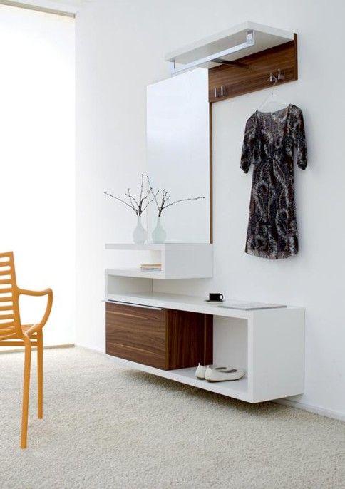 Genial kleine garderobe interior flur m bel flure und for Kleine garderobe einrichten