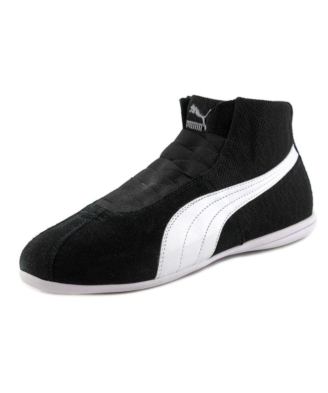 PUMA Puma Eskiva Mid Textured Women Round Toe Leather Black