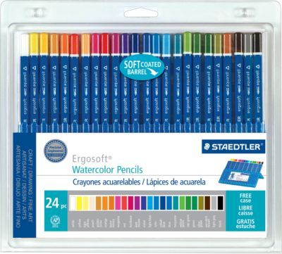 Diy Invitations Staedtler Ergosoft Watercolor Pencils Assorted