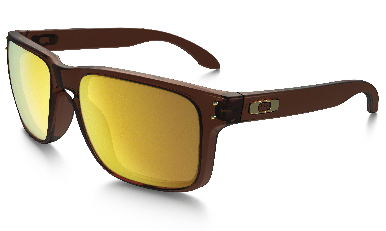 5613e104c49df Oakley Holbrook (Asia Fit) in MATTE ROOT BEER   24K IRIDIUM   Oakley. Óculos  De Sol ...