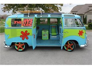 1967 volkswagen bus scooby doo style this is awesome - Scooby doo voiture ...
