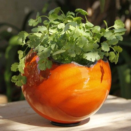 Pot pour plantes en céramique fait main. Artisanat d\'art. Made in ...