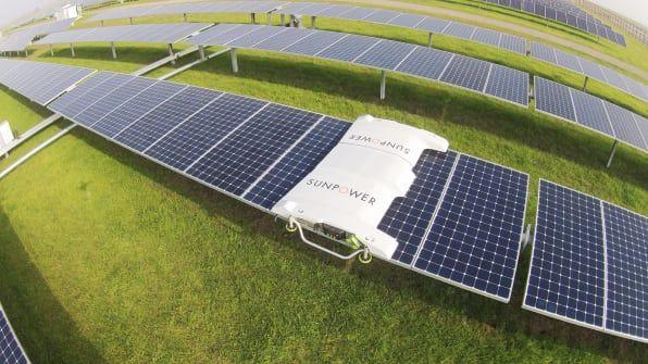 Drones Are Making Solar Farms Way More Efficient Solar Farm Solar Panels Solar Power House