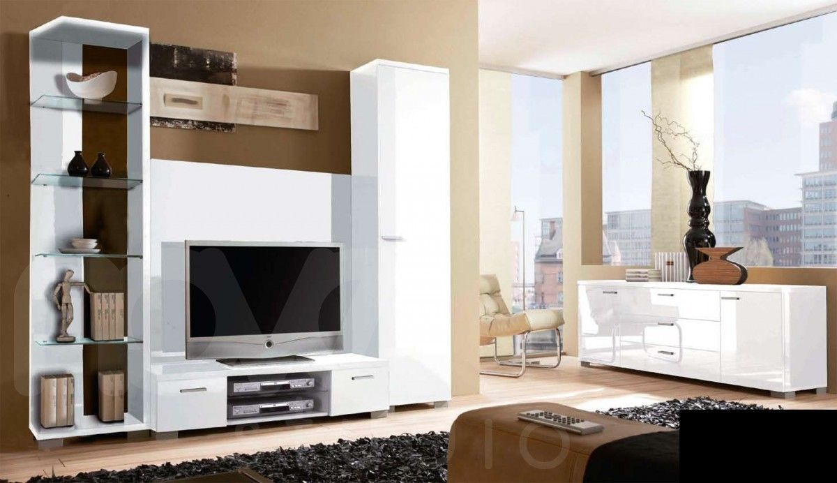 Unique modern tv wall unit designs on furniture for Living room units designs