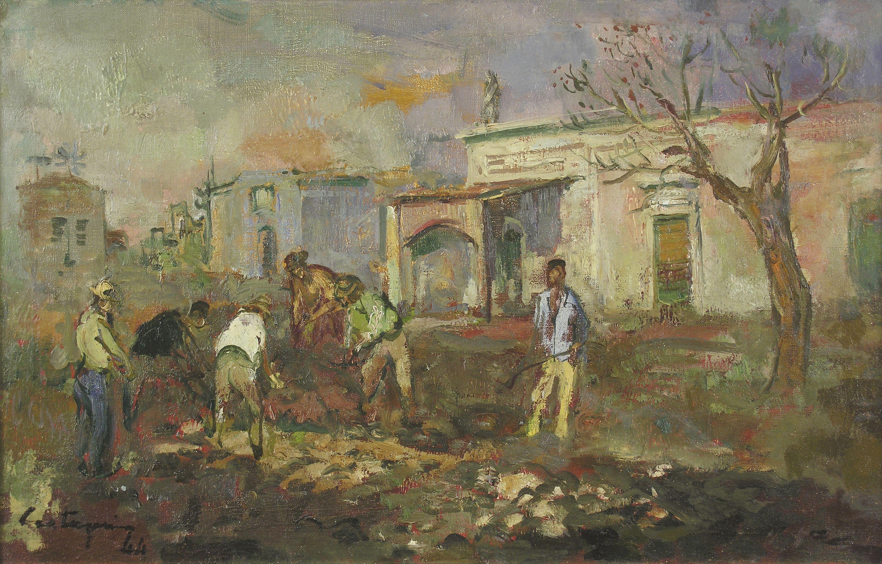Juan Carlos Castagnino El Almacén De La Figura 1944 Artes Visuales Arte Realismo Artístico