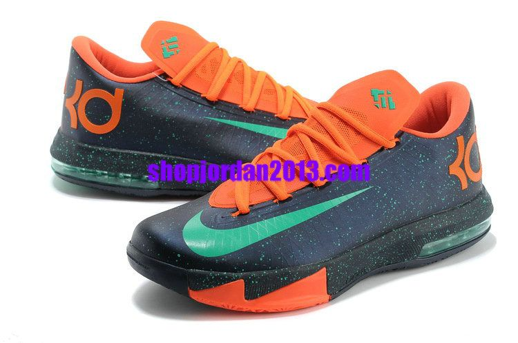 new arrival 51af5 7311a ... nike zoom kd 6(vi) shoes mint speckle cheap kevin durant shoes great