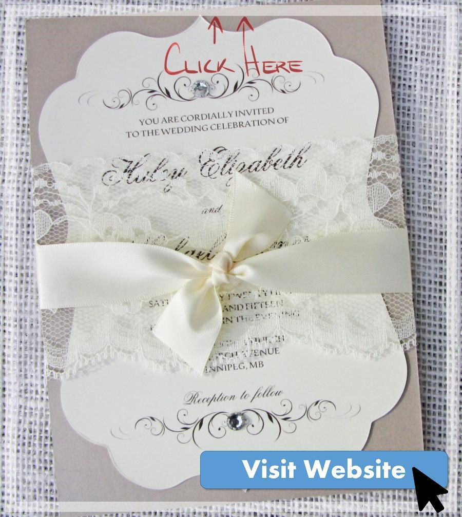 29 Nice Lace Wedding Invitations Diy In 2020 Lace Wedding Invitations Vintage Wedding Invitations Lace Vintage Wedding Invitations