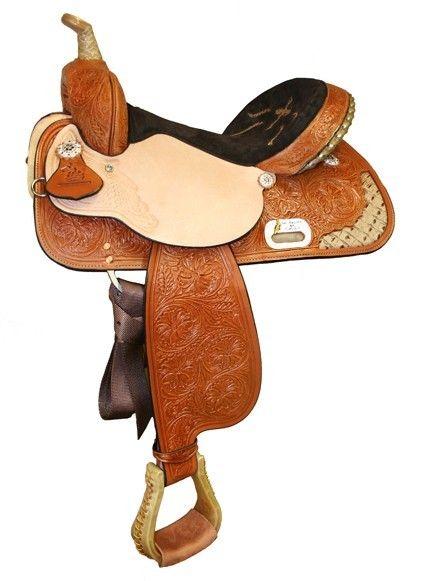 Circle Y Saddlery® The Proven Splendora High Horse Barrel Saddle