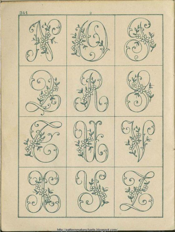 1872) Gallery.ru / Фото #9 - 341 - natashakon | lettering monograms ...