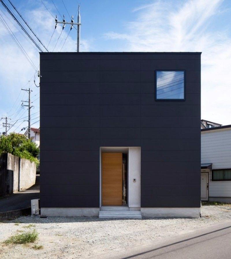 究極の大人かっこいい家 シンプルでシックな黒キューブの家まとめ
