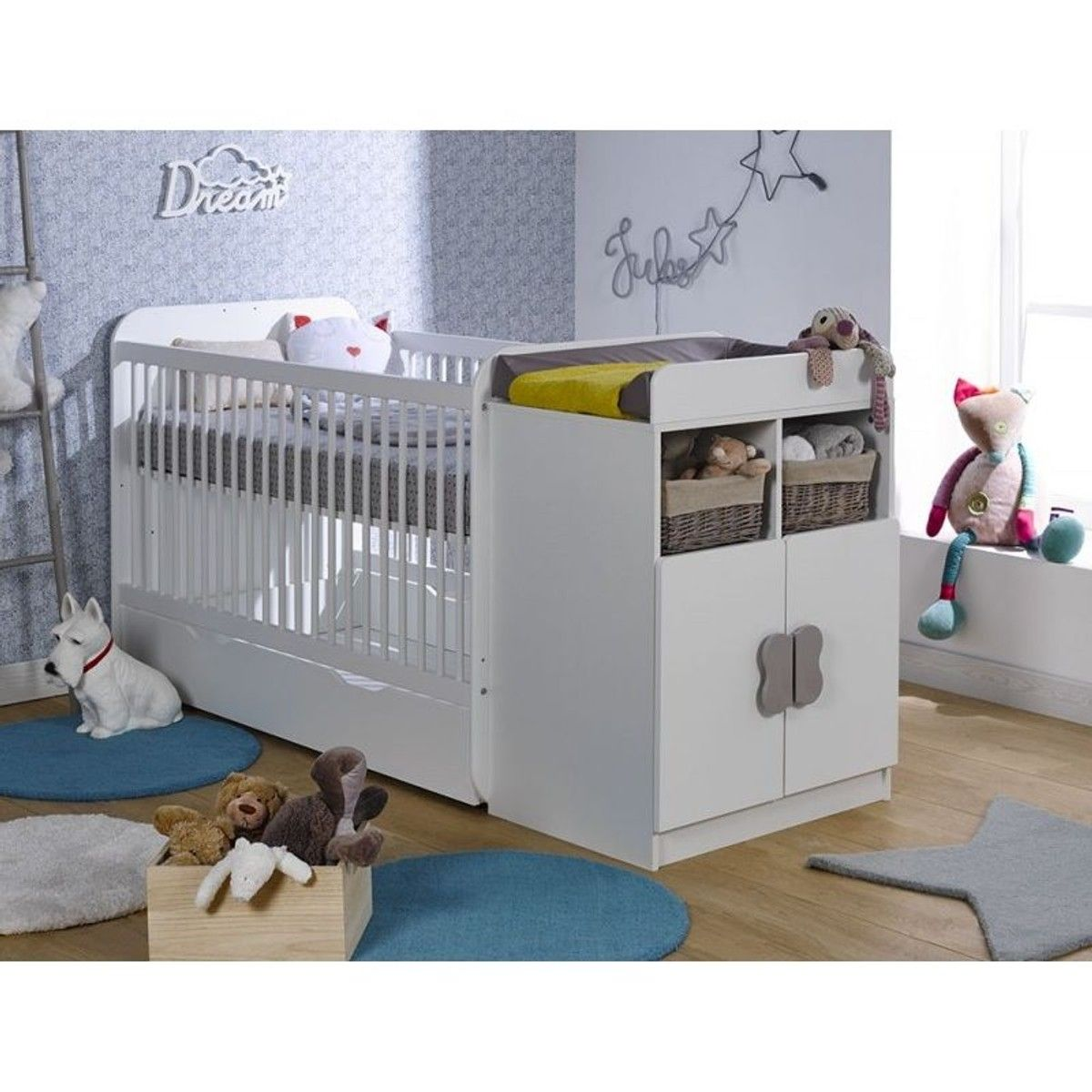 Lit Bebe Evolutif Mathis Fabrication Francaise Lit Bebe Lit Evolutif Et Amenagement Chambre Bebe