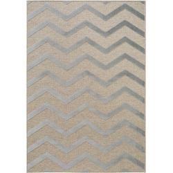 Photo of benuta short pile carpet North Beige / Gray 160×230 cm – Modern carpet for living room benuta