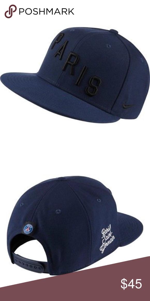 huge inventory the latest really cheap RARE NIKE PSG PARIS SAINT GERMAN TRUE SQUAD HAT 🔘 Brand new ...