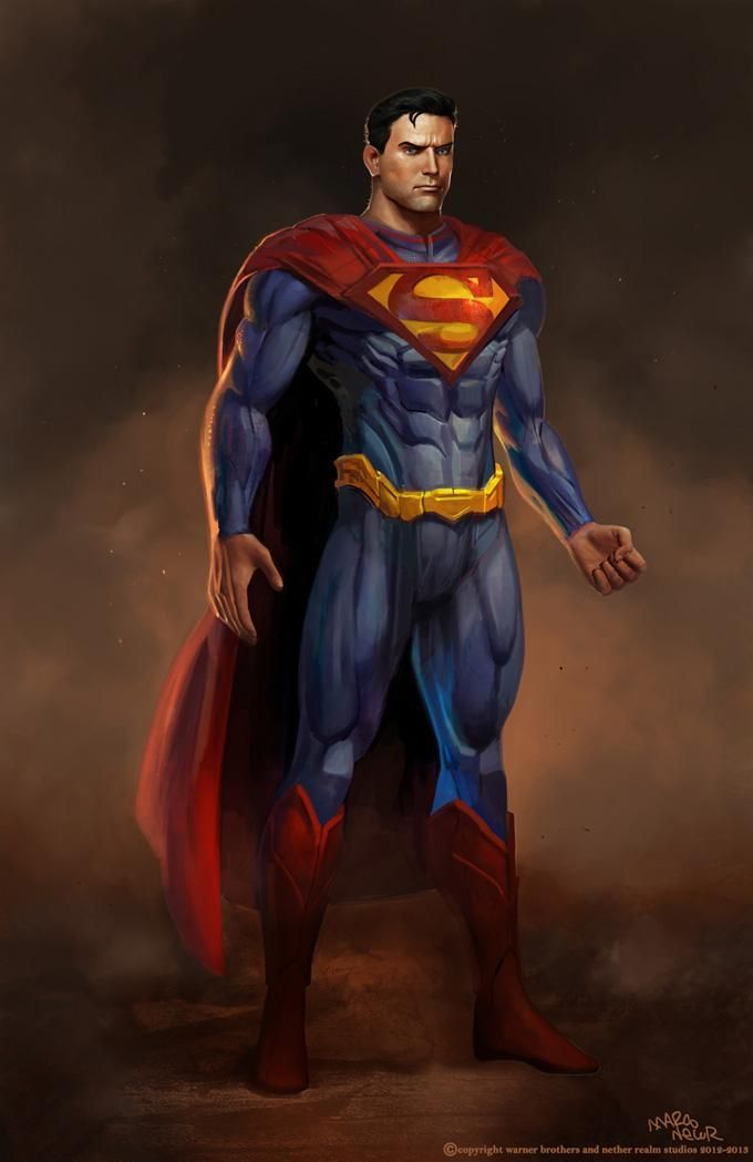 Injustice: Gods Among Us - Superman by Marco Nelor.