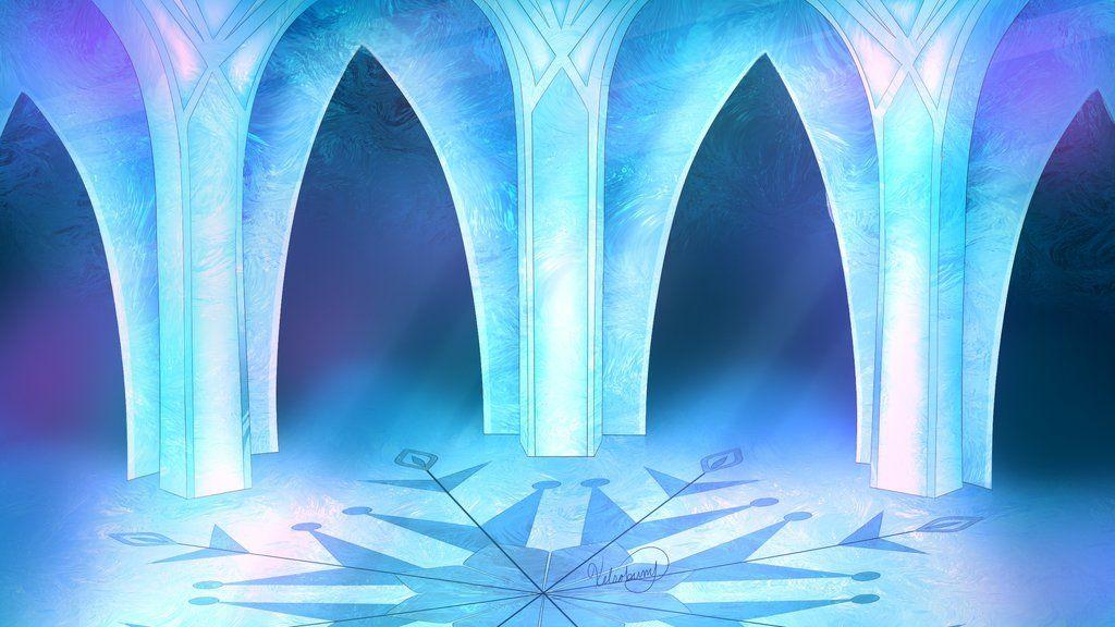 Картинки ледяного замка эльзы