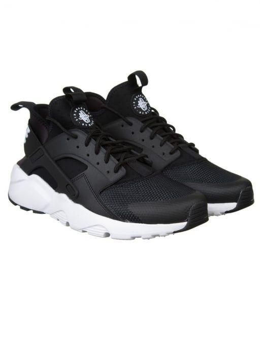 Nike Air Huarache Ultra Shoes - Black White  565742a0b